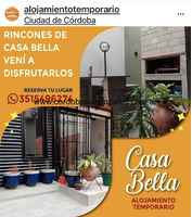 Casa Bella apartamentos de alquiler Temporario